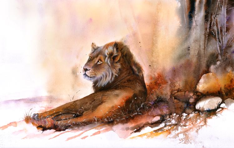 Кошки на полотнах Питера Уильямса