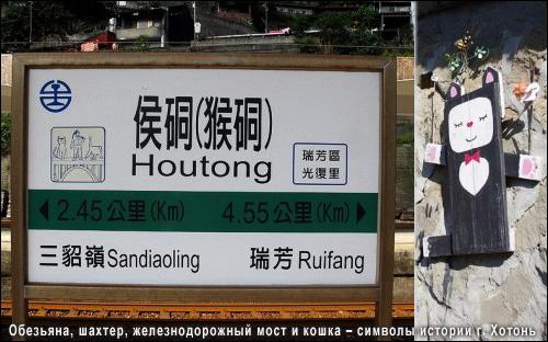 Кот, шахтер, обезьяна и железнодорожный мост – символы истории городка Хотонь