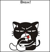 Семь минут с черным котом - он-лайн комплекс интервальных упражнений