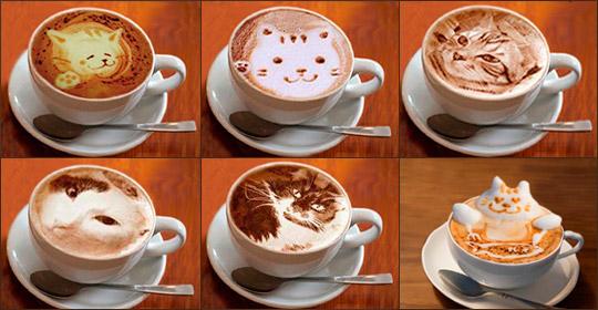 Кофе с котами или оригинальный латте-арт