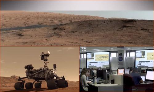 Curiosity: исследование поверхности Марса