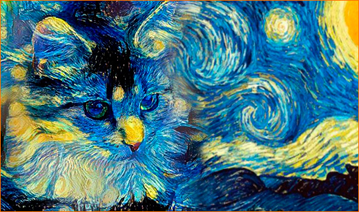 Кошка Ван Гога