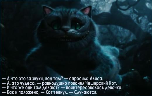 Цитаты Чеширского Кота